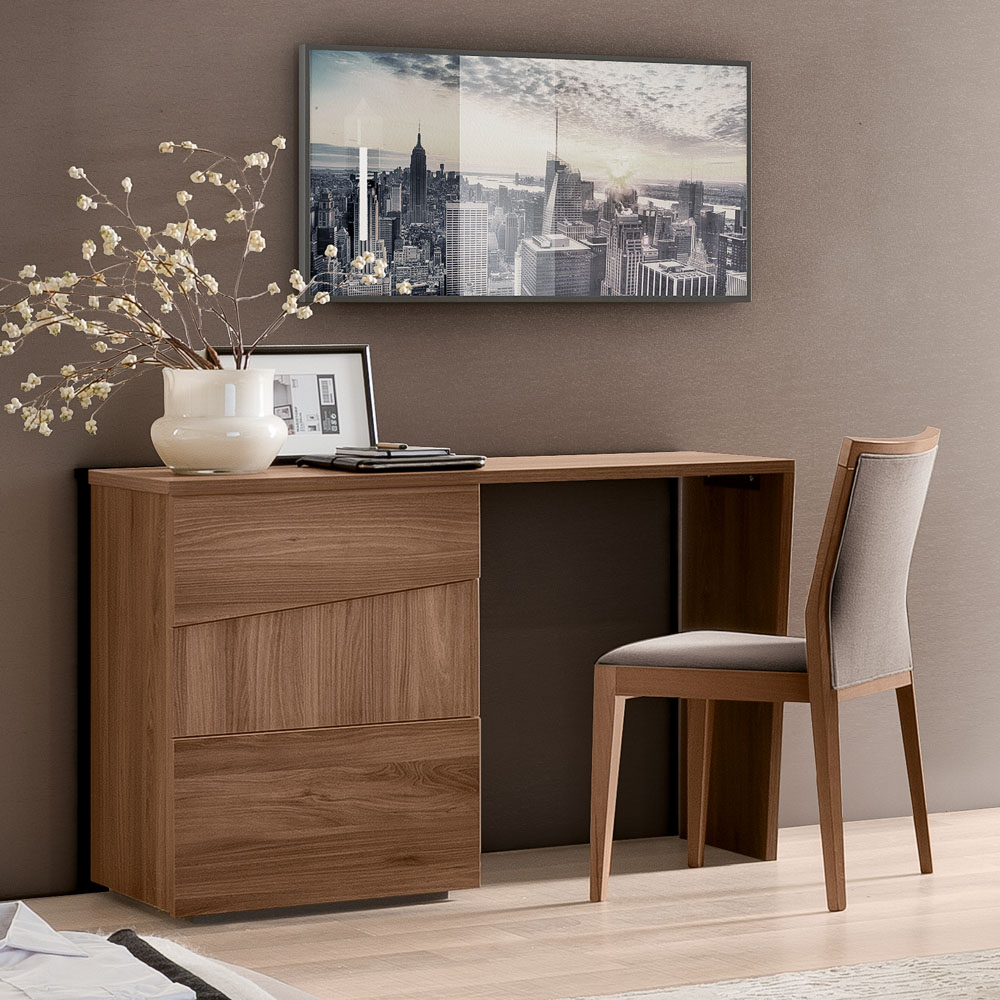 Milan Walnut Vanity Unit