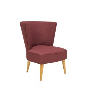 Stuart Jones Hepburn Chair Mulberry