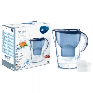 Brita - Marella 3.5L XL Water Filter Jug - Blue