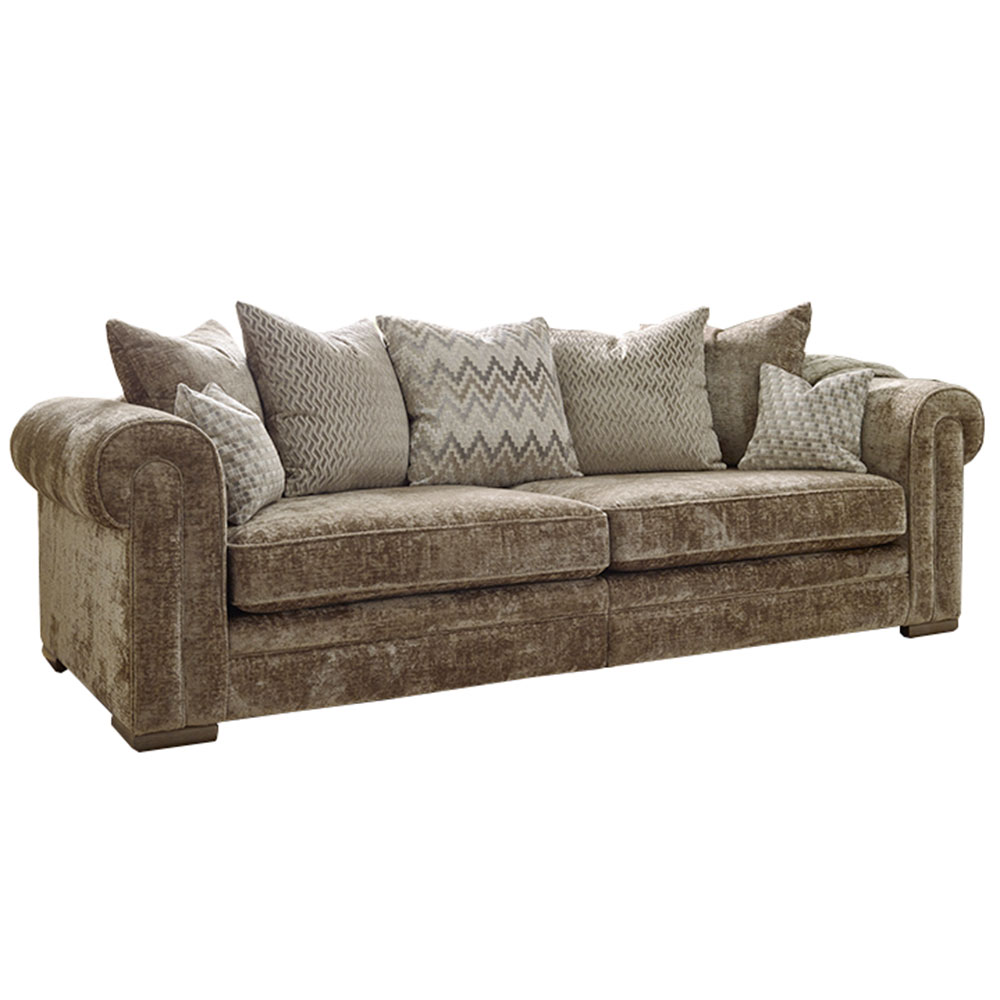 Troy XL Split Pillowback Sofa
