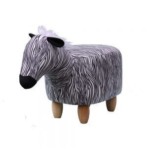 Zara The Zebra Footstool