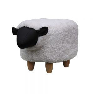 Barbara The Sheep Footstool