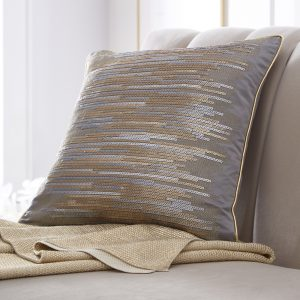 Tess Daly Shimmer Sequin Cushion 43x43cm