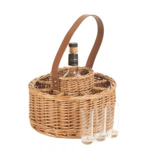 Round Whisky Celebration Carrier
