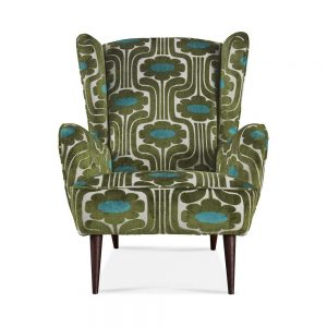 Orla Kiely Alma Wing Chair