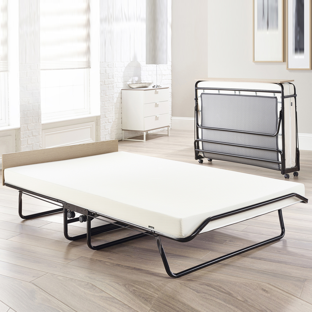 Jaybe Supreme Small Double Folding Bed & Memory Foam Mattress