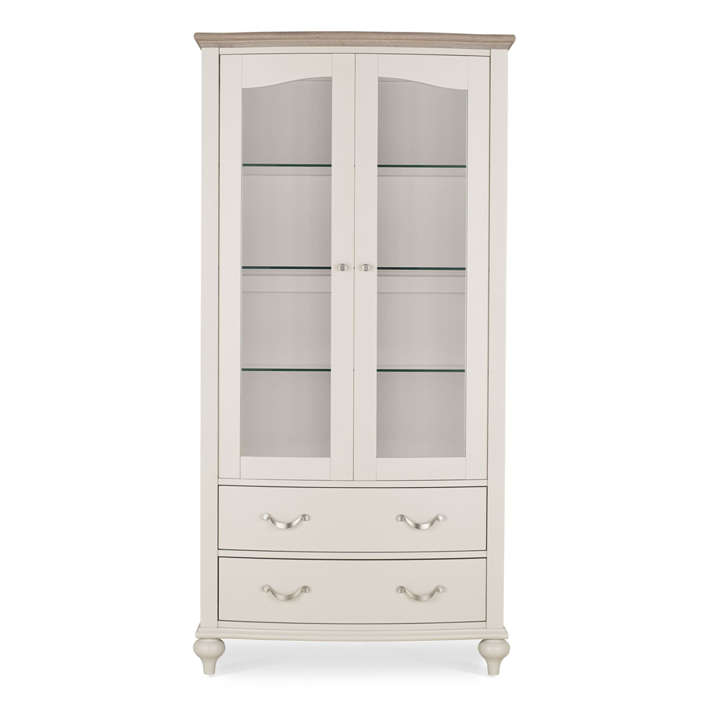 Monaco Display Cabinet Grey