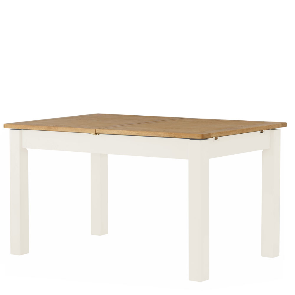 Pemberley Extending Dining Table White