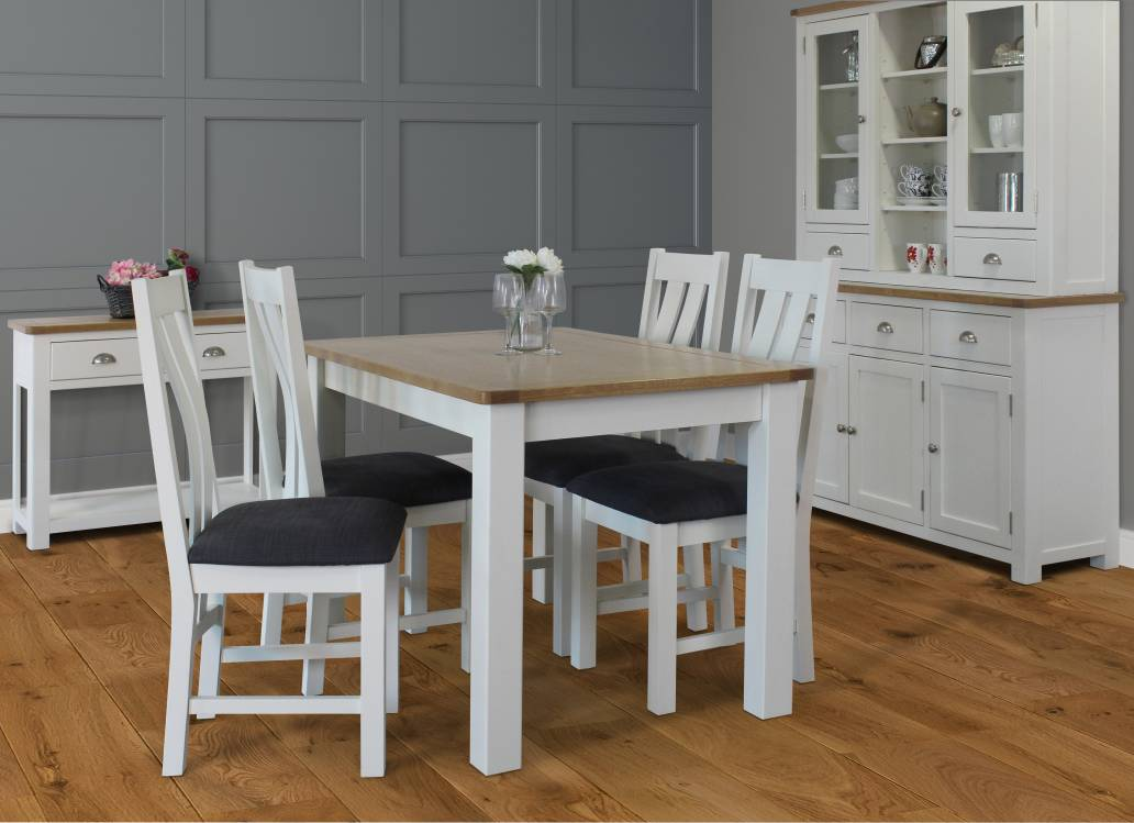 Pemberley Extending Table & 4 Chairs