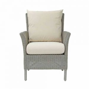 LAURA ASHLEY WILTON LA-WILT - CHAIR WHITE - FABRIC (D)