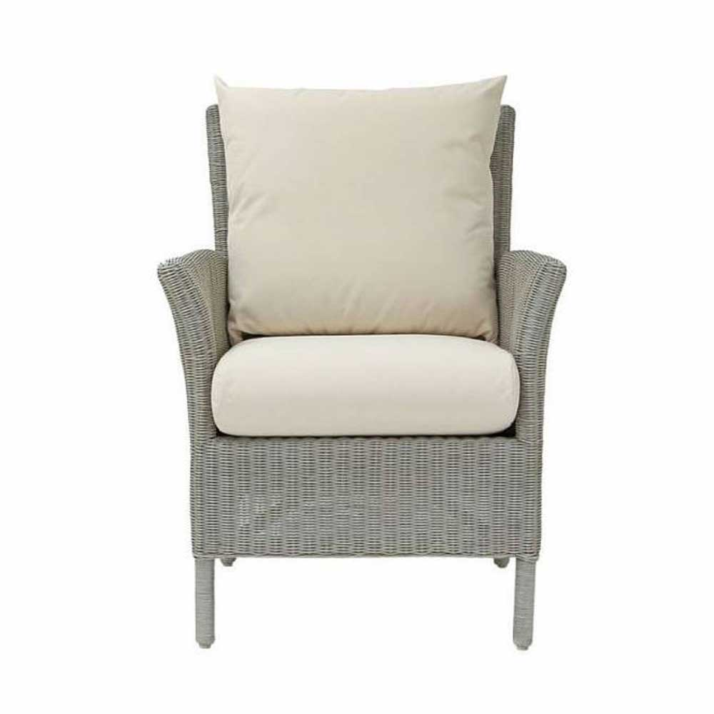 LAURA ASHLEY WILTON LA-WILT - CHAIR WHITE - FABRIC (E)