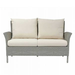 LAURA ASHLEY WILTON LA-WILT - SOFA WHITE - FABRIC (D)