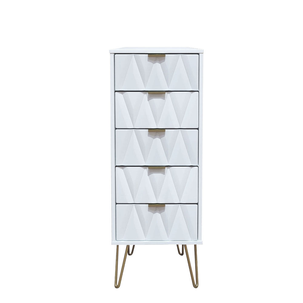 Deco 5 Drawer Locker