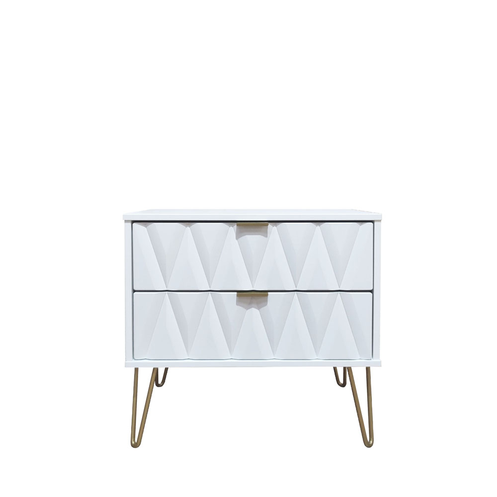 Deco 2 Drawer Midi Chest