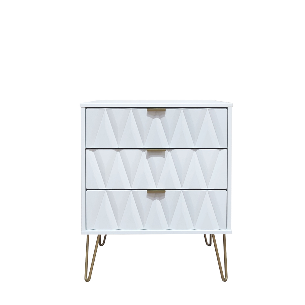 Deco 3 Drawer Midi Chest