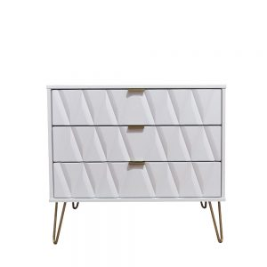Deco 3 Drawer Chest