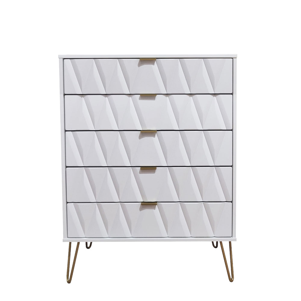 Deco 5 Drawer Chest