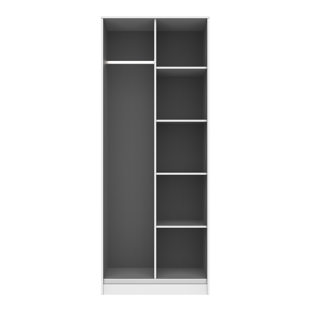 Deco Open Shelf Wardrobe