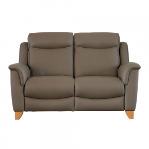 MANHATTAN DBL POWER RECLINER 2 STR SOFA WITH BUT/SWITCHES - RECHARGEABLE (A)