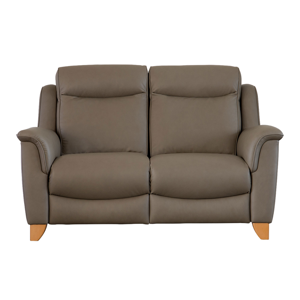 MANHATTAN DBL POWER RECLINER 2 STR SOFA WITH BUT/SWITCHES - SINGLE MOTOR (B)