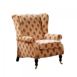 YORK WING CHAIR LEATHER