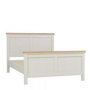 Stag Crompton Premier Bed Frame King Morning Dew & Lacquer