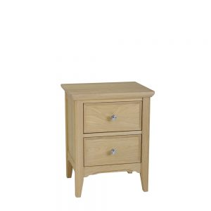 New England Premier 2 Drawer Bedside Mist