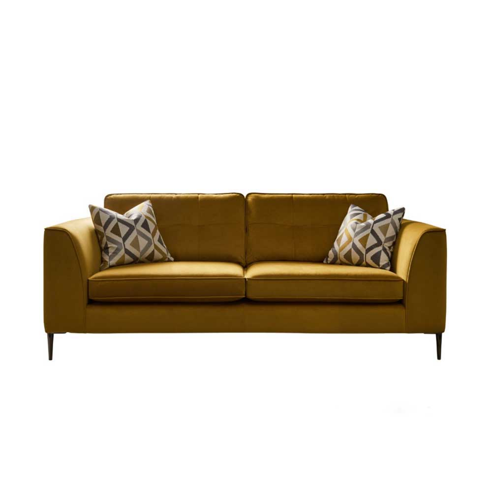 LONDON LARGE STD BACK SOFA- FABRIC (B)