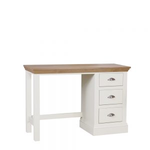 Chatsworth Painted & Oak Premier Dressing Table Ice White