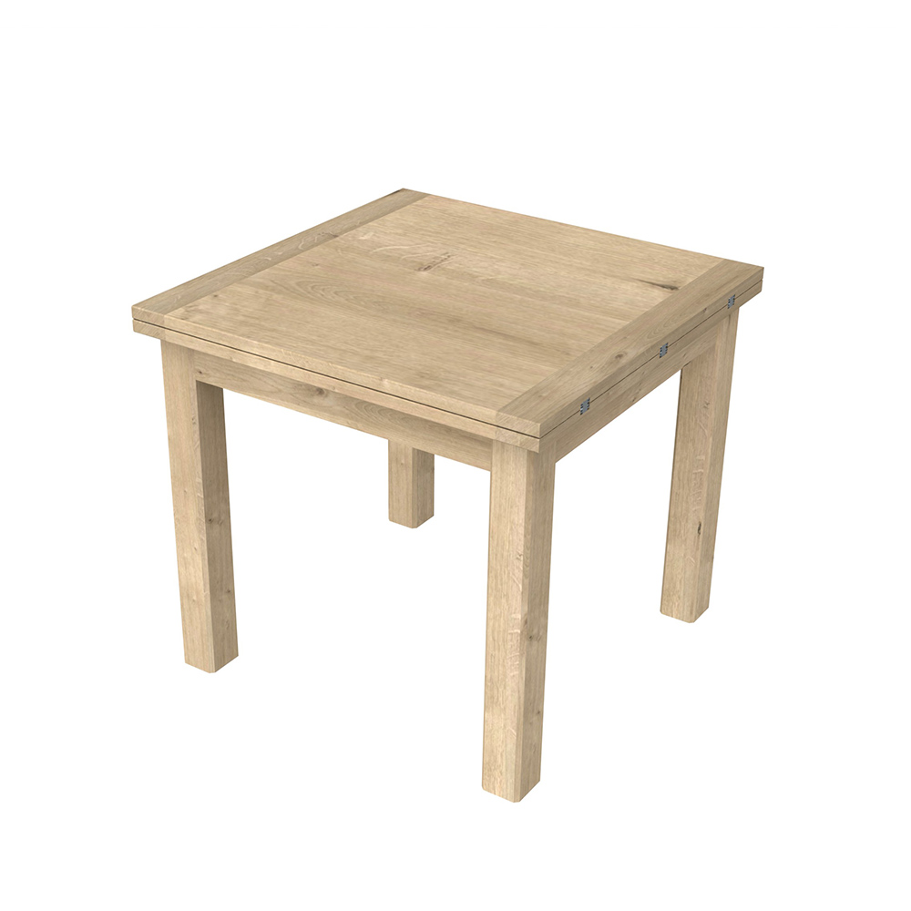 Brittany Flip Top Dining Table Oak