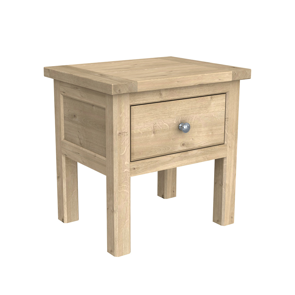 Brittany Lamp Table Oak