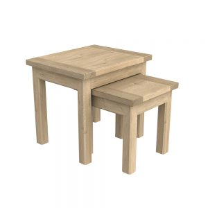 Brittany Nest of Tables Oak
