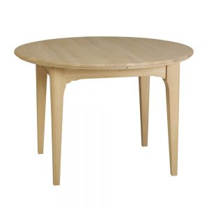 New England Premier Round Extending Dining Table