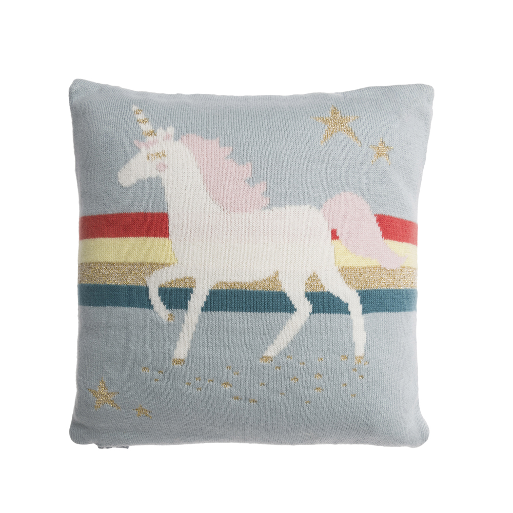 Sophie Allport Unicorn Cushion with Pocket 50cm