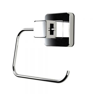 Showerdrape Pushloc Suction System Collection Toilet Roll Holder