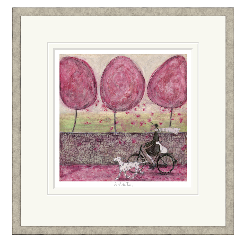 Sam Toft - A Pink Day - Limited Edition Print