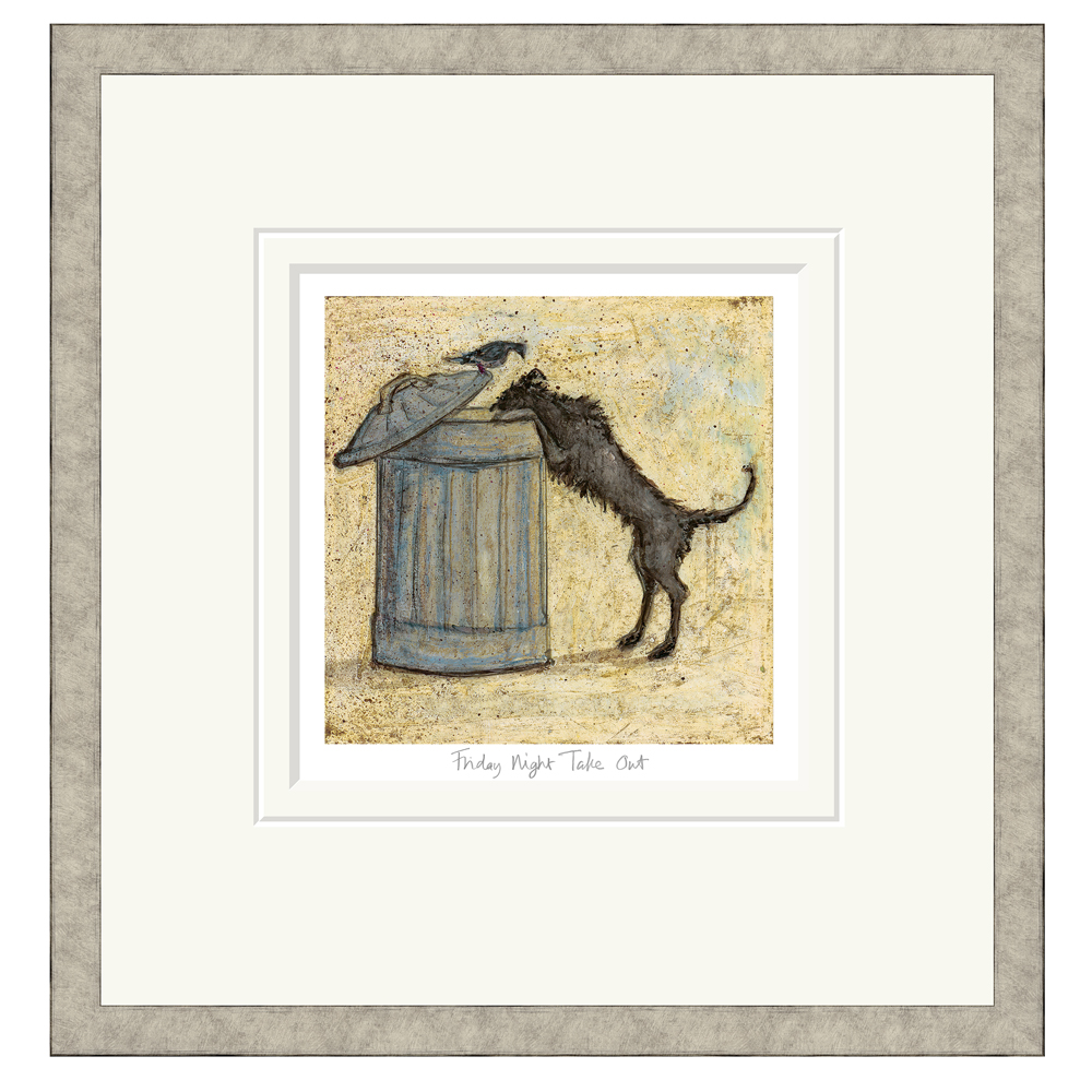 Sam Toft - Friday Night Take Out - Limited Edition Print