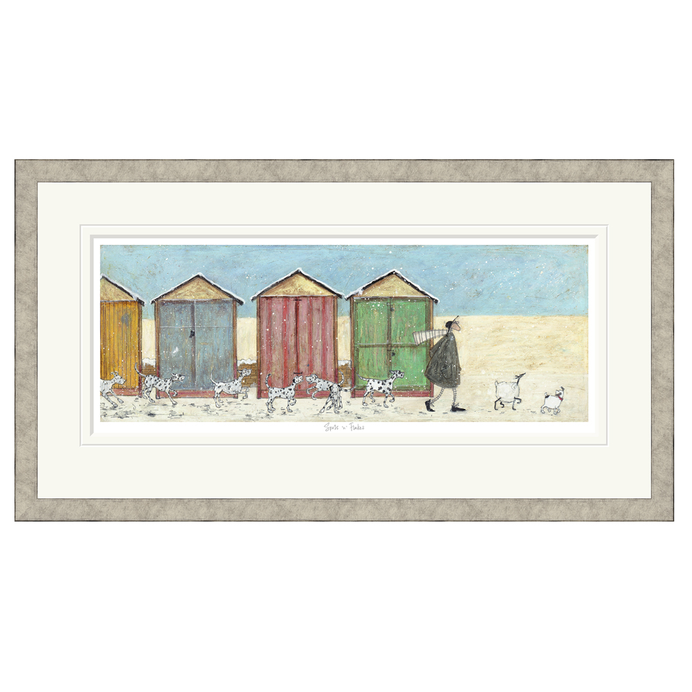 Sam Toft - Spots N Flakes - Limited Edition Print