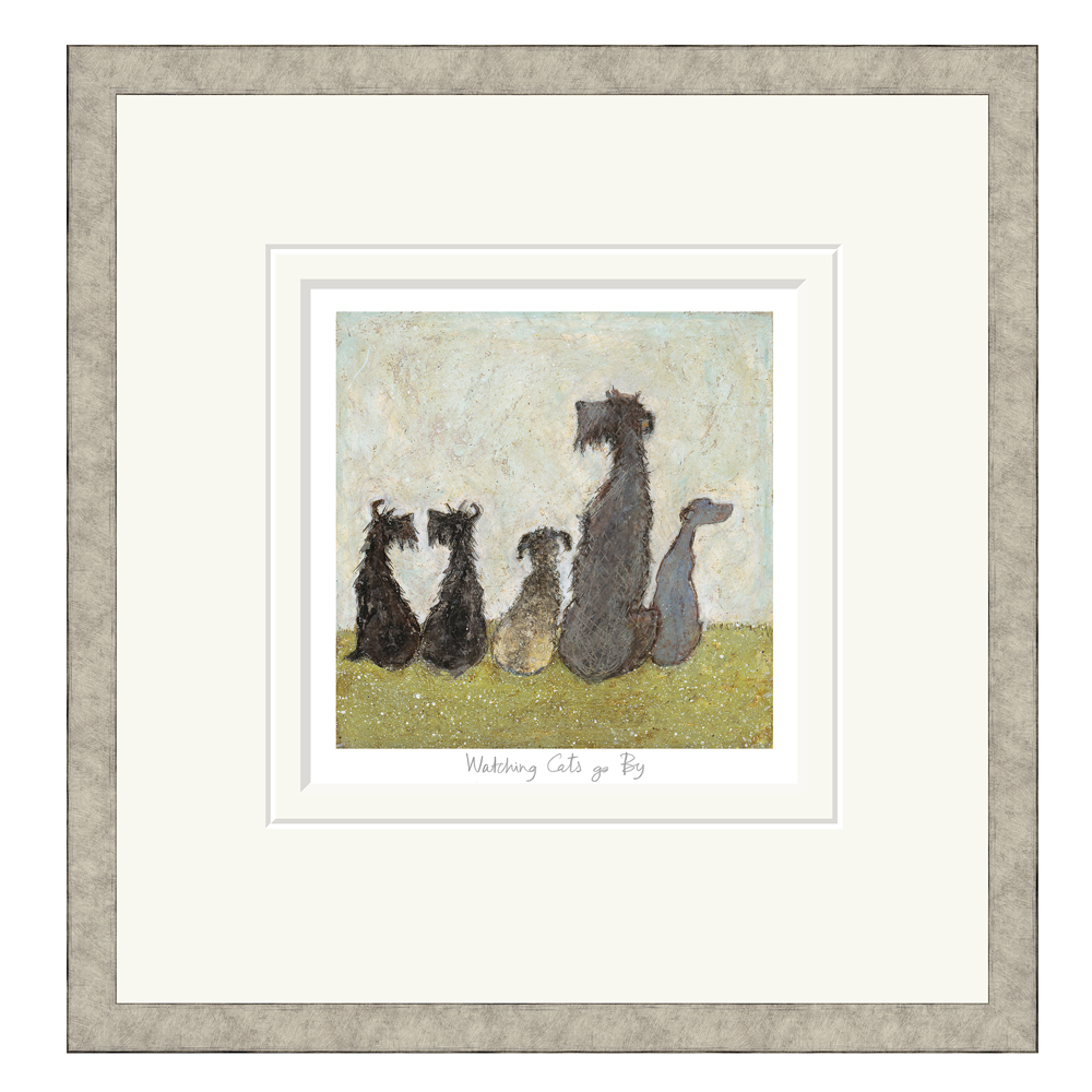 Sam Toft - Watching Cats Go By - Limited Edition Print