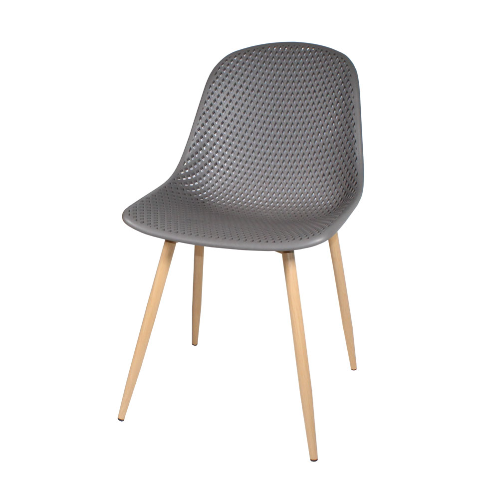 Positano Dining Chair Dark Grey