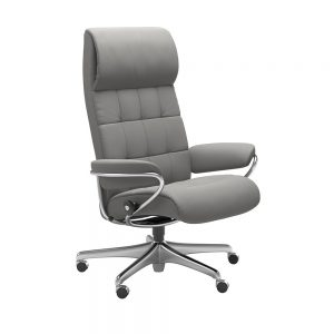 LONDON 1340097 OFFICE CHAIR (STEEL) / FABRIC /