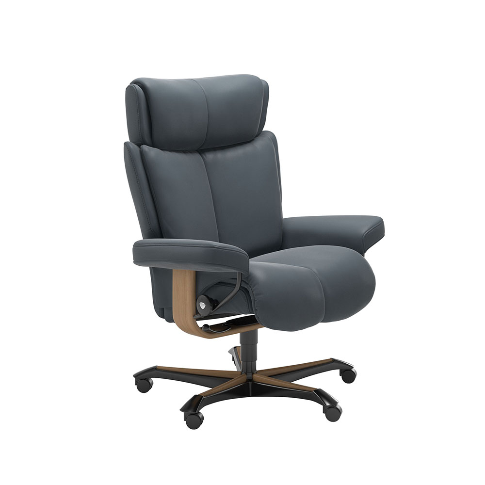 MAGIC (M) 1144096 CHAIR OFFICE BASE / GROUP 5 FABRIC  /