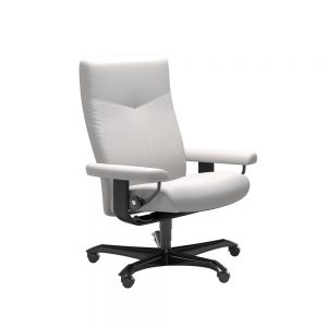 DOVER (M) 1346096 OFFICE CHAIR (WOOD TRIM) / BATICK /