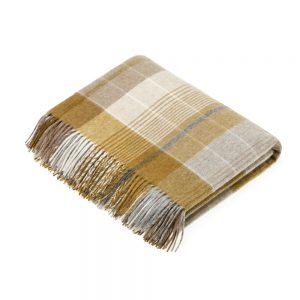 Florence Gold Throw