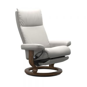 AURA (M) 1343705 CLASSIC POWER SINGLE MOTOR CHAIR (LEG) / FABRIC /