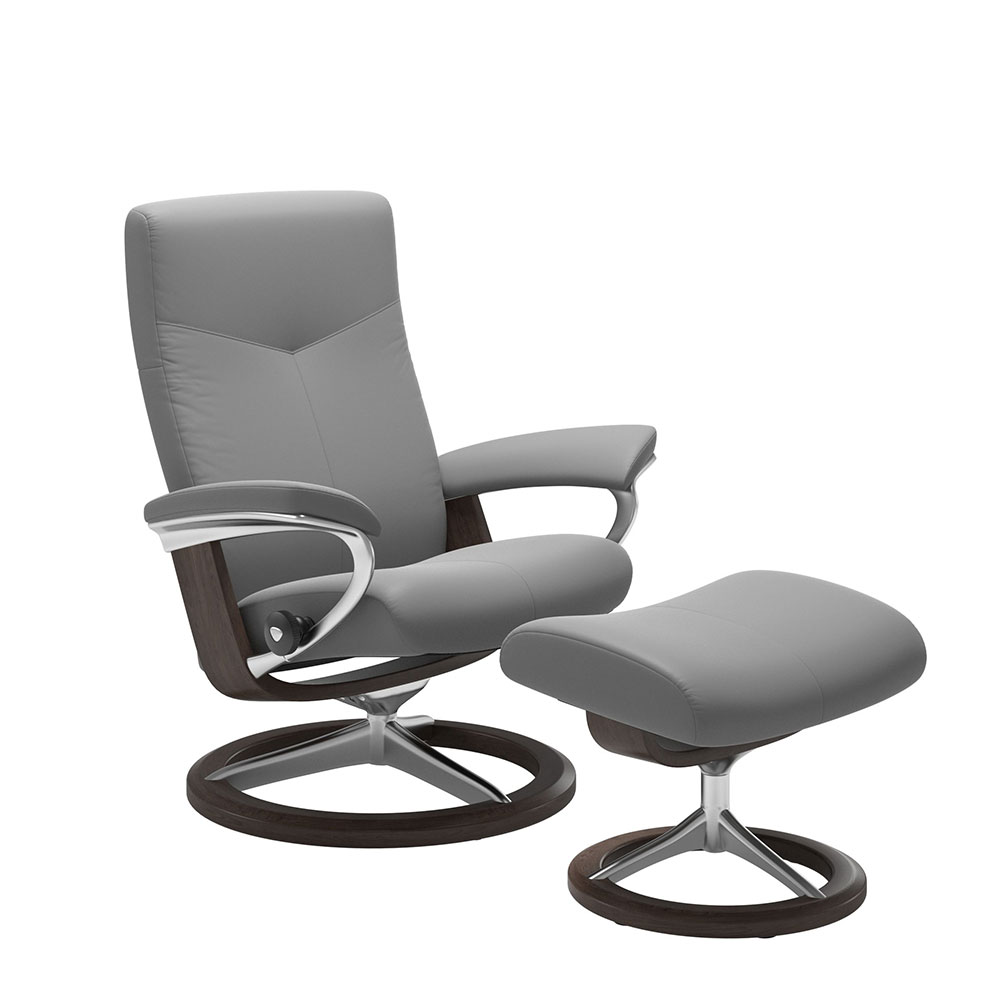 DOVER (L) 1347315 CHAIR WITH FOOTSTOOL SIGNATURE BASE / CORI /