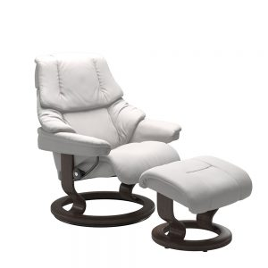 RENO (S) 1031015 CHAIR WITH FOOTSTOOL CLASSIC BASE / BATICK /