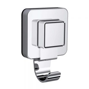 Showerdrape Pushloc Suction System Collection Robe Hook