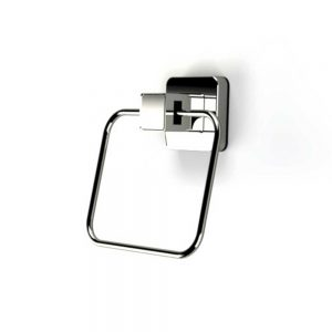 Showerdrape Pushloc Suction System Collection Towel Ring