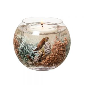 Stoneglow Juniper Berry & Cedar Natural Wax Fishbowl Candle